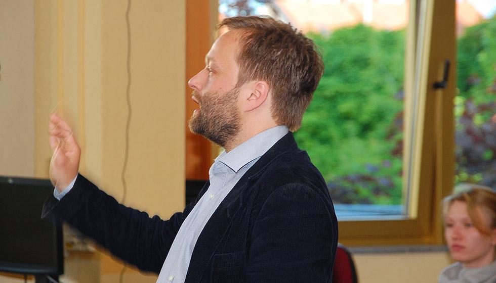Ulrich Weller, Künstlerischer Leiter des Mediziner-Chors
