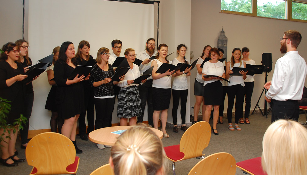 Chor Ligamentum Vocale eröffnete den Abend