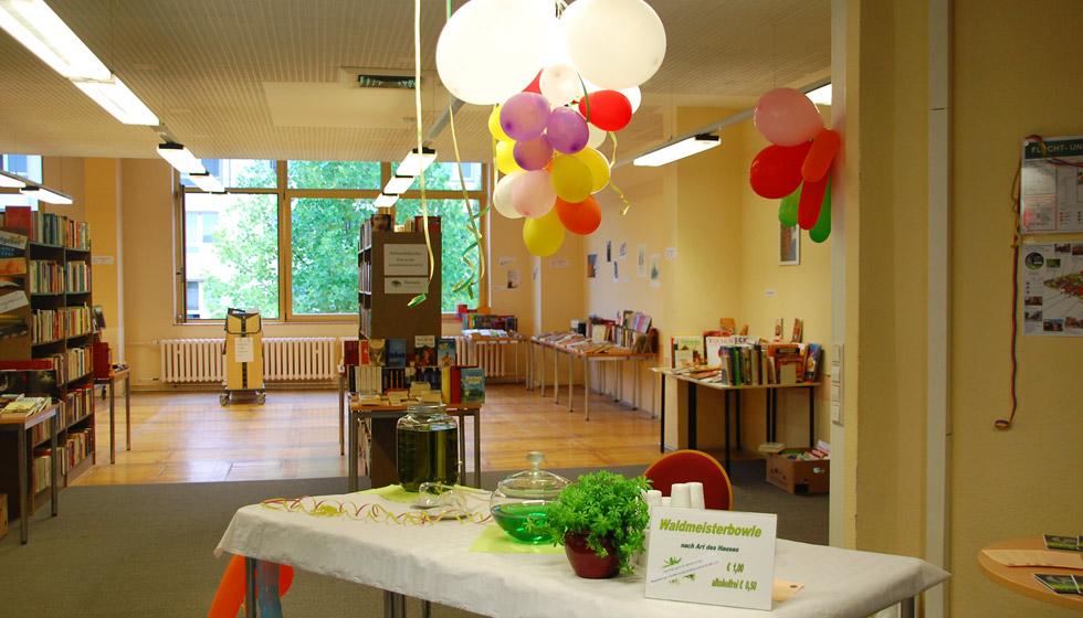 die Einnahmen für die Getränke werden an den Magdeburger Förderverein krebskranker Kinder e. V. gespendet